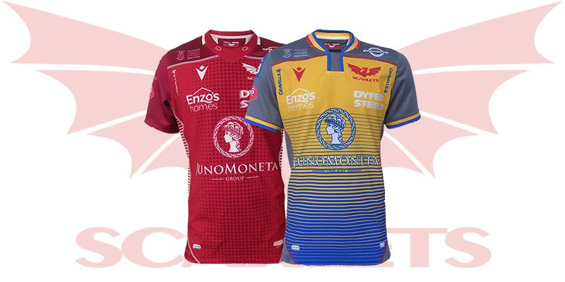 Camiseta Scarlets Rugby 2019