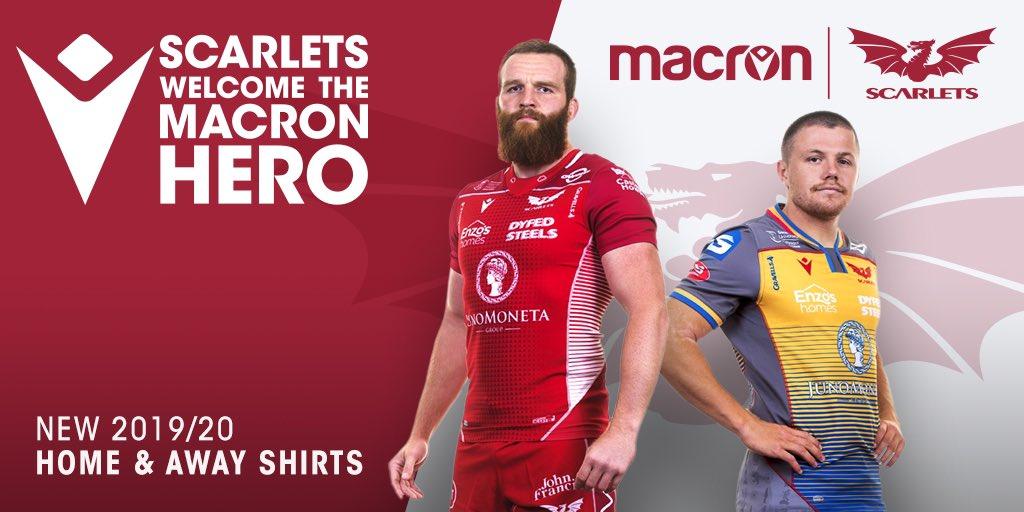 Scarlets Rugby 2019 Banner