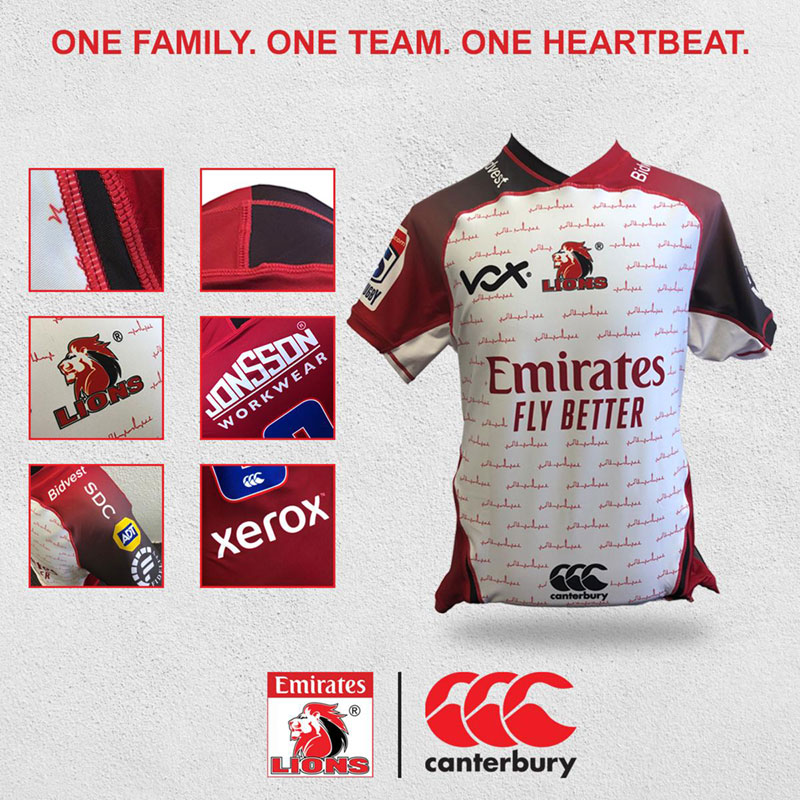 Camiseta Rugby Lions 2020