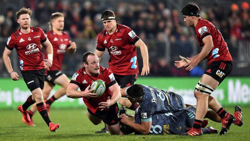 Los huracanes derribaron a los cruzados para apretar el altamente competitivo campeonato Super Rugby Aotearoa